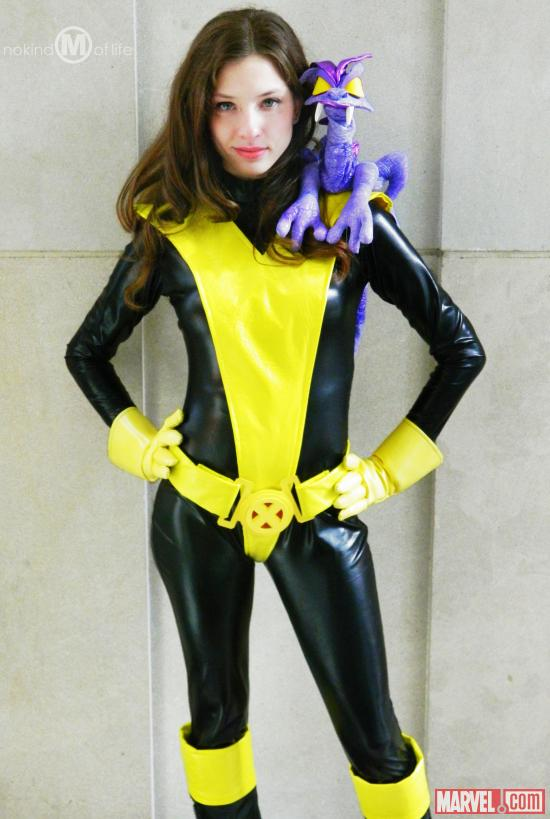 Marvel Cosplay: Kitty Pryde Cosplay from Philadelphia Wizard World