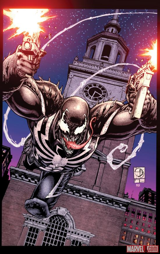 Venom (2011) #28 cover by Shane Davis