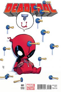 Deadpool #1  (Young Baby Variant)