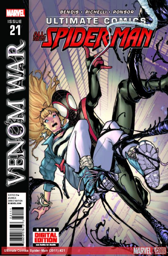 ULTIMATE COMICS SPIDER-MAN 21 (WITH DIGITAL CODE)