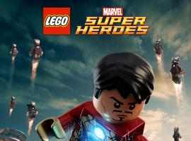 Marvel's Iron Man 3 poster by LEGO