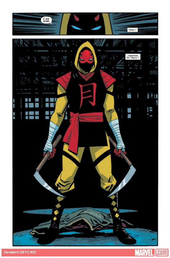 Daredevil (2011) #25 art by Chris Samnee