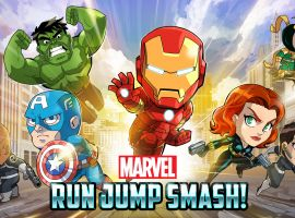 Marvel Run Jump Smash! key art