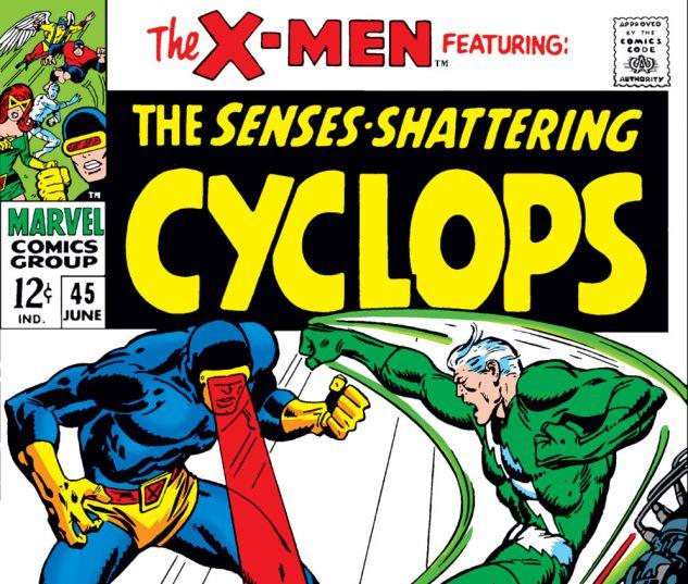 Uncanny X-Men (1963) #45 Cover