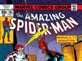Amazing Spider-Man (1963) #184 Cover