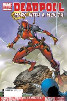 Deadpool: Merc with a Mouth #7  (3RD PRINTING)