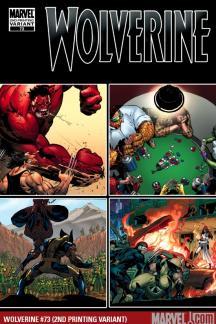 Wolverine (2003) #73 (2ND PRINTING VARIANT)