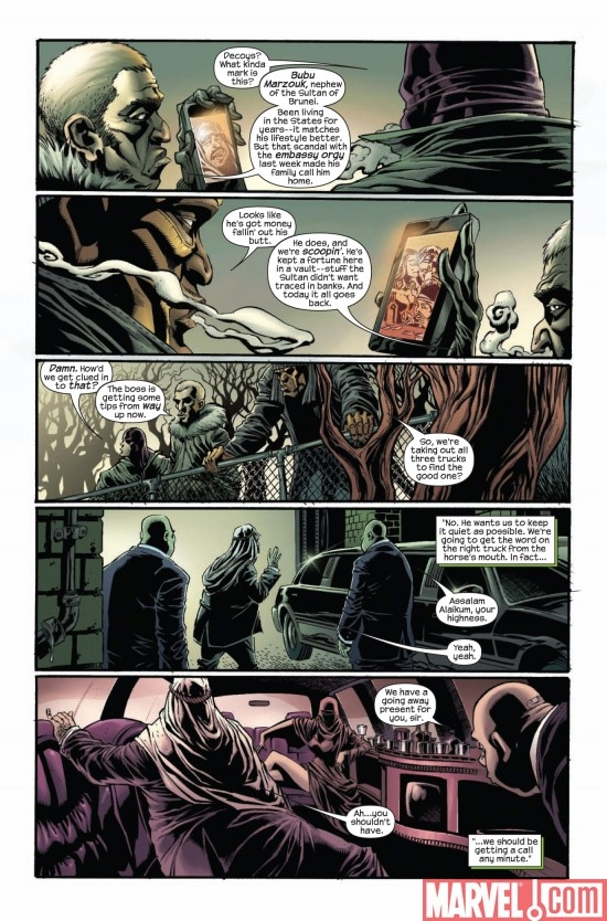 DARK REIGN: THE HOOD #1, page 3