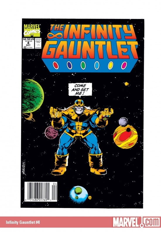 Infinity Gauntlet #4