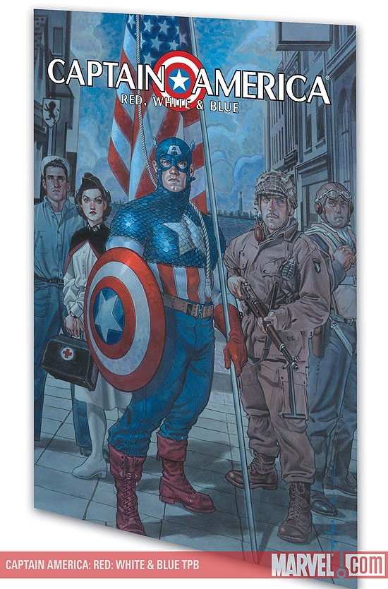 CAPTAIN AMERICA: RED, WHITE & BLUE #0