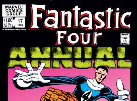 FANTASTIC FOUR ANNUAL #17 COVER
