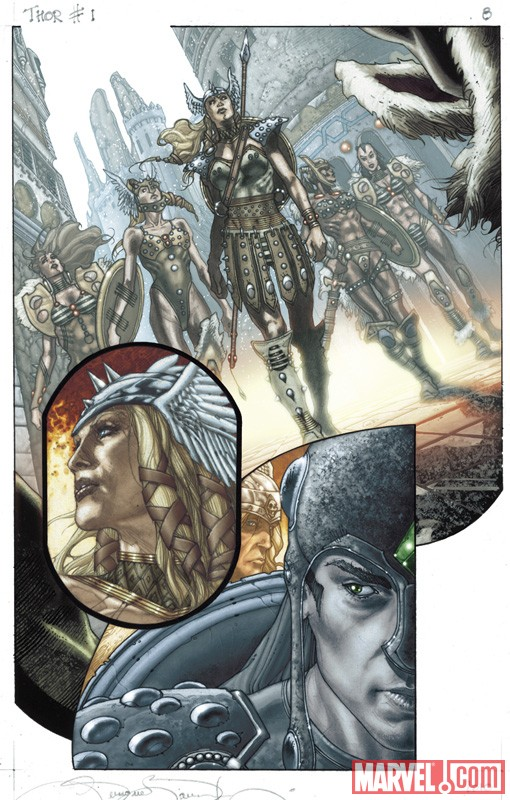THOR: FOR ASGARD #1 preview art by Simone Bianchi 3