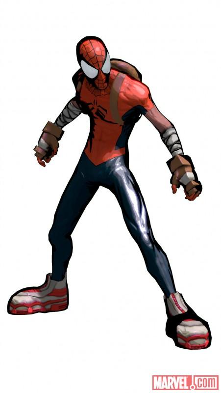 Spider-Man Shattered Mangaverse Spider Man Wallpaper