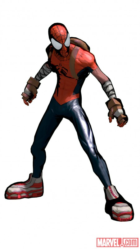 ''Spider-Man: Shattered Dimensions'' Mangaverse costume