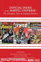 Avengers, Thor &amp; Captain America: Official Index to the Marvel Universe #7 