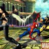 X-23, Spider-Man and Wolverine in Marvel vs. Capcom 3