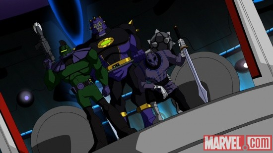 Kang's minion in The Avengers: Earth's Mightiest Heroes!