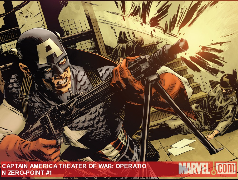Captain America Theater of War: Zero Point art by Mitch Breitweiser
