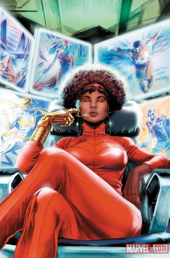 Misty Knight by Doug Braithwaite