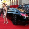 Renee Russo (Frigga) with an official S.H.I.E.L.D. Acura at the U.S. premiere of Thor