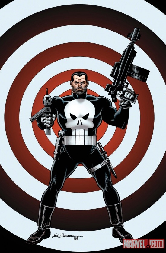 The Punisher #1 cover by Sal Buscema