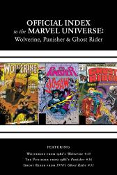 Wolverine, Punisher &amp; Ghost Rider: Official Index to the Marvel Universe Marvel Universe #2 