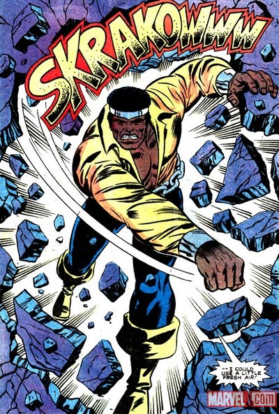 Luke Cage as Power Man