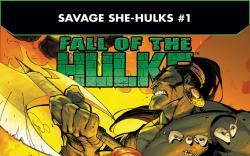 Fall of the Hulks: The Savage She-Hulks (2010) #1