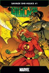 Fall of the Hulks: The Savage She-Hulks #1