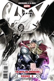 Avengers Vs. X-Men (2012) #6 (Avengers Team Variant)