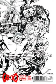 A+X #4  (Mcguinness Sketch Variant)