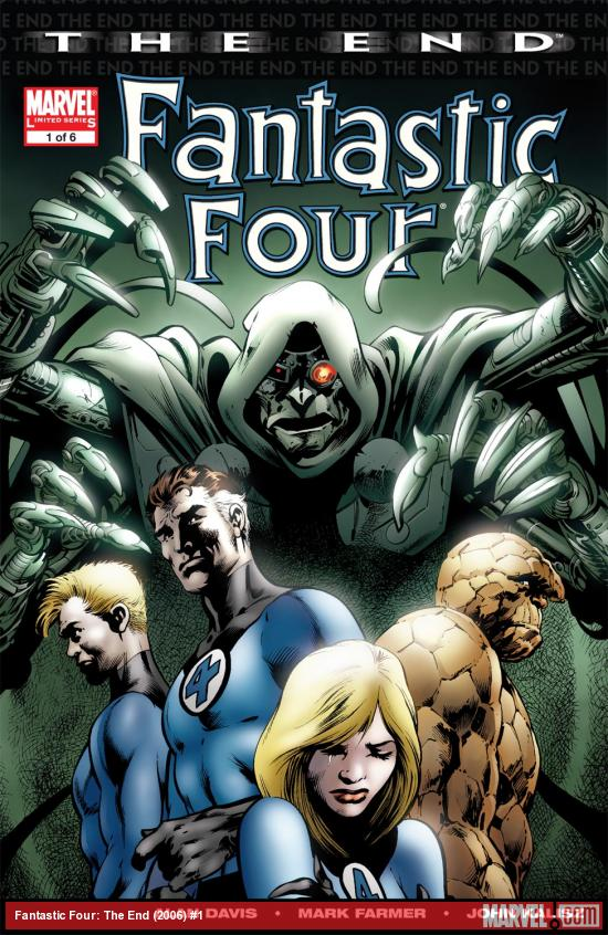 Cover for Fantastic Four: The End (2006) #1