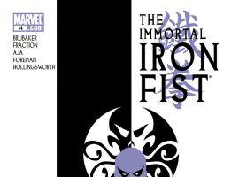 Immortal Iron Fist (2006) #4