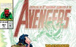 Avengers (1963) #361 Cover