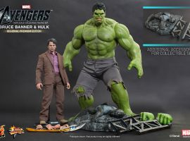 Hot Toys Bruce Banner Collectible Figure