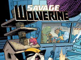 SAVAGE WOLVERINE 14.NOW SAMNEE ANIMAL VARIANT (ANMN, WITH DIGITAL CODE)