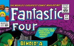 Fantastic Four (1961) #37 Cover