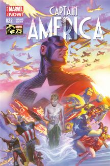 Captain America #22  (Ross 75th Anniversary Variant)