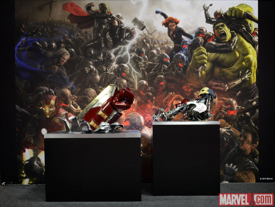 Avengers Age Of Ultron Ultron Mark 1