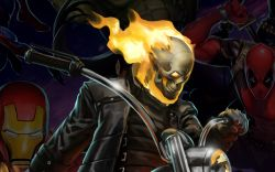 Ghost Rider in Marvel Puzzle Quest