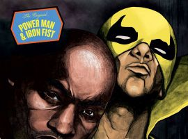Power Man and Iron Fist #1 Hip-Hop Variant by Theotis Jones