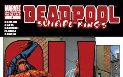 DEADPOOL: SUICIDE KINGS #3 (2ND PRINTING VARIANT)