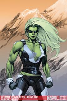 Ultimate Wolverine Vs. Hulk (2005) #3 (2ND PRINTING VARIANT)