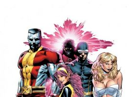 The X-Men by Greg Land