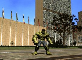 The Incredible Hulk video game screenshot