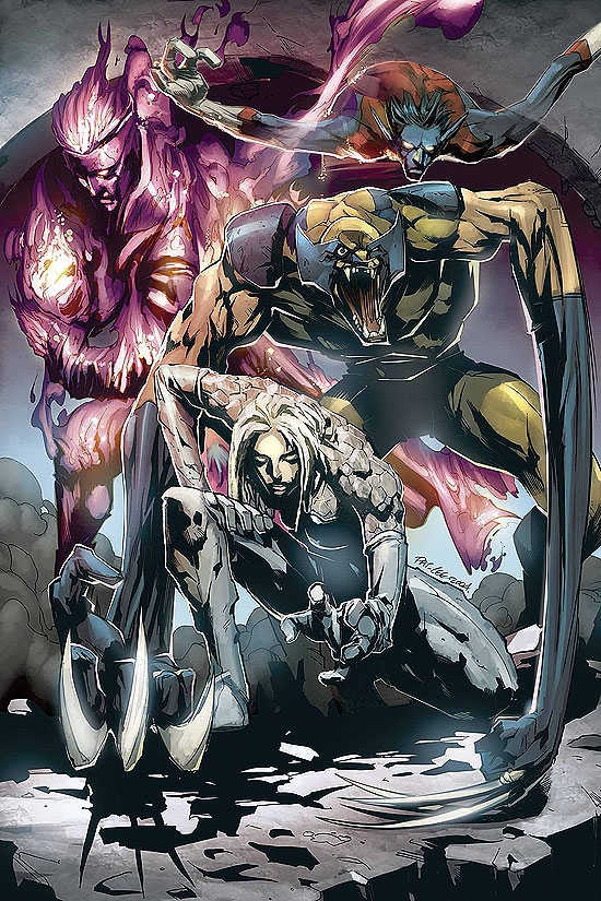 X-MEN/FANTASTIC FOUR (2005) #2 COVER