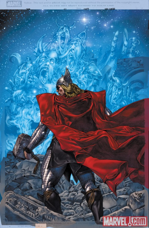 THOR #611 cover by Mico Suayan