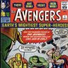 Avengers (1963) #1 cover by Jack Kirby