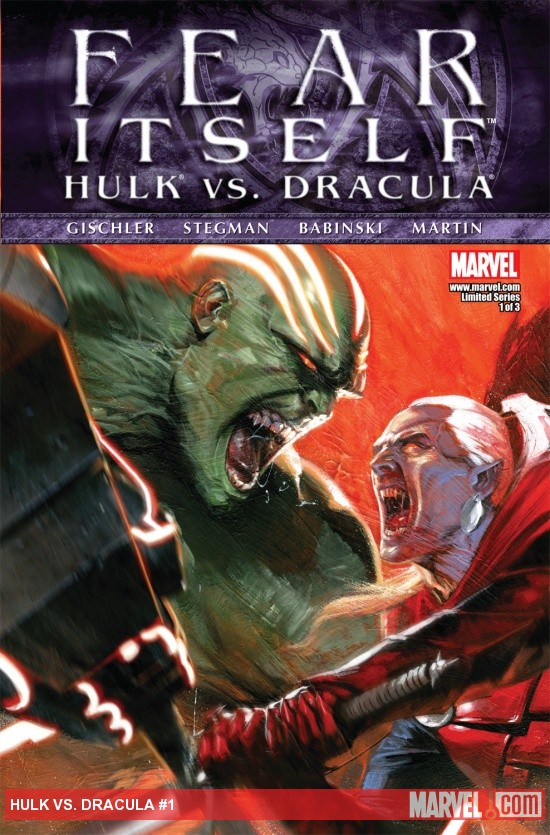 Fear Itself: Hulk vs. Dracula (2011) #1