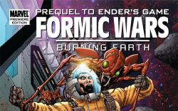 Formic Wars: Burning Earth hardcover art by Billy Tan